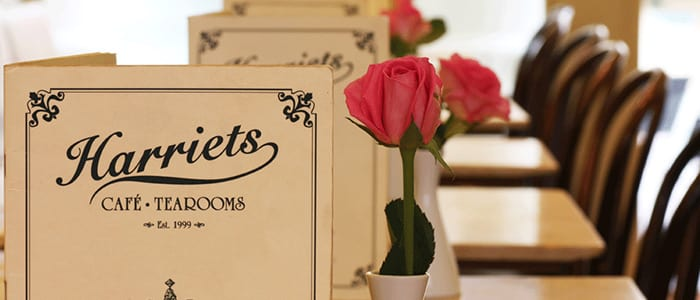 Harriets Tearoom Menus