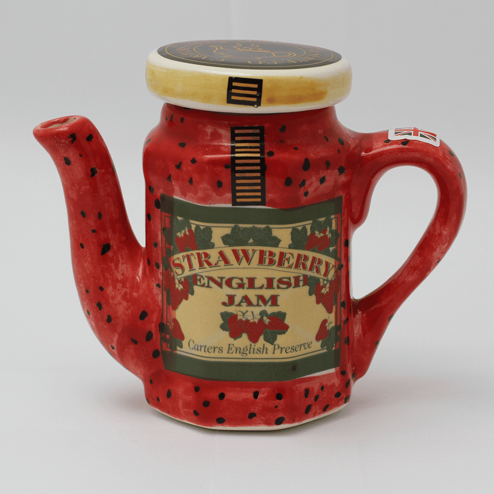 Home » Products » Crockery » Small Strawberry Jam Teapot