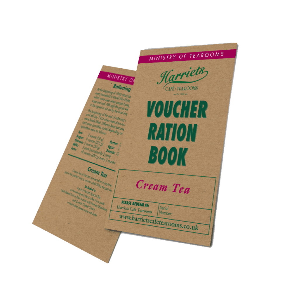 Harriets Cream Tea Voucher