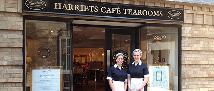 harriets cafe tearooms cambridge