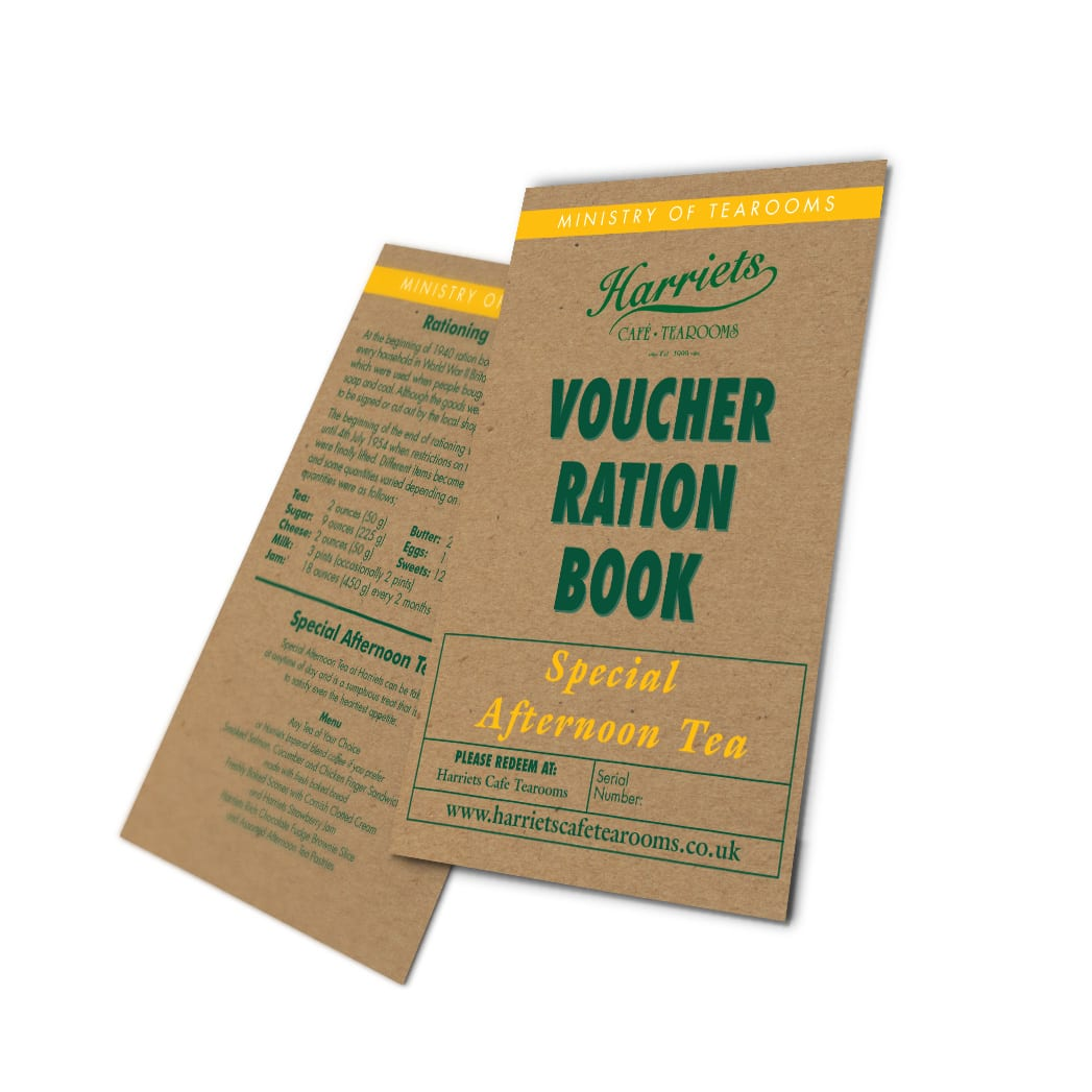 special afternoon tea voucher