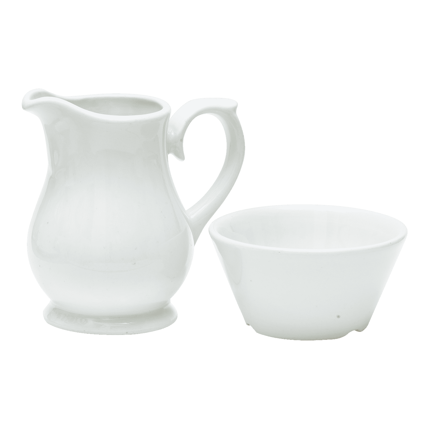 Milk Jug and Sugar Bowl
