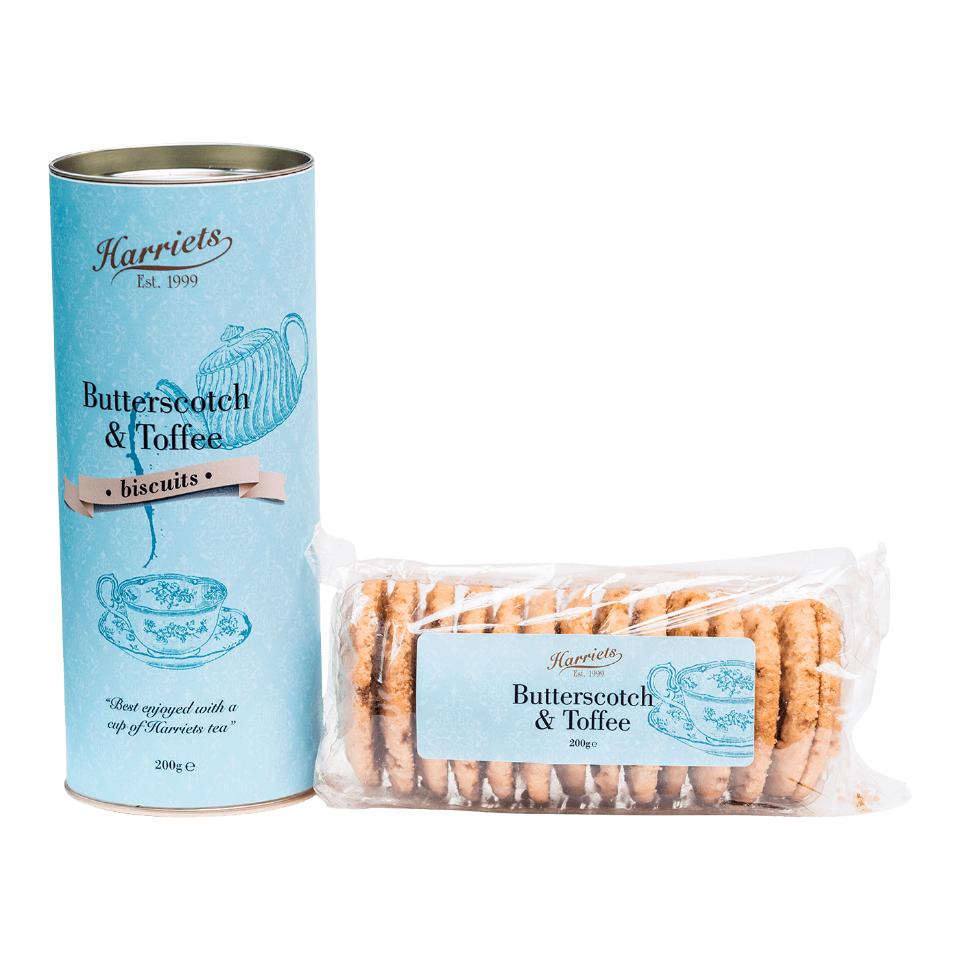 Butterscotch & Toffee Biscuits