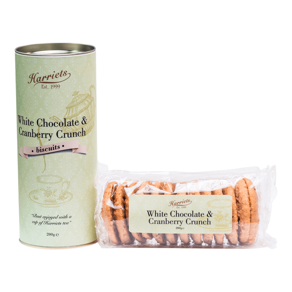 Harriets White Chocolate & Cranberry Biscuits