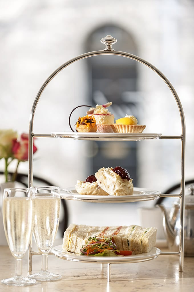 Harriets Silver Plated Afternoon Tea Stand Harriets Cafe