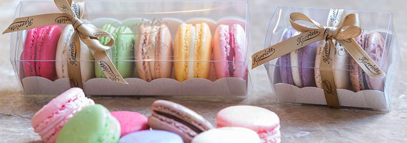 Harriets Macaroons Box of 6