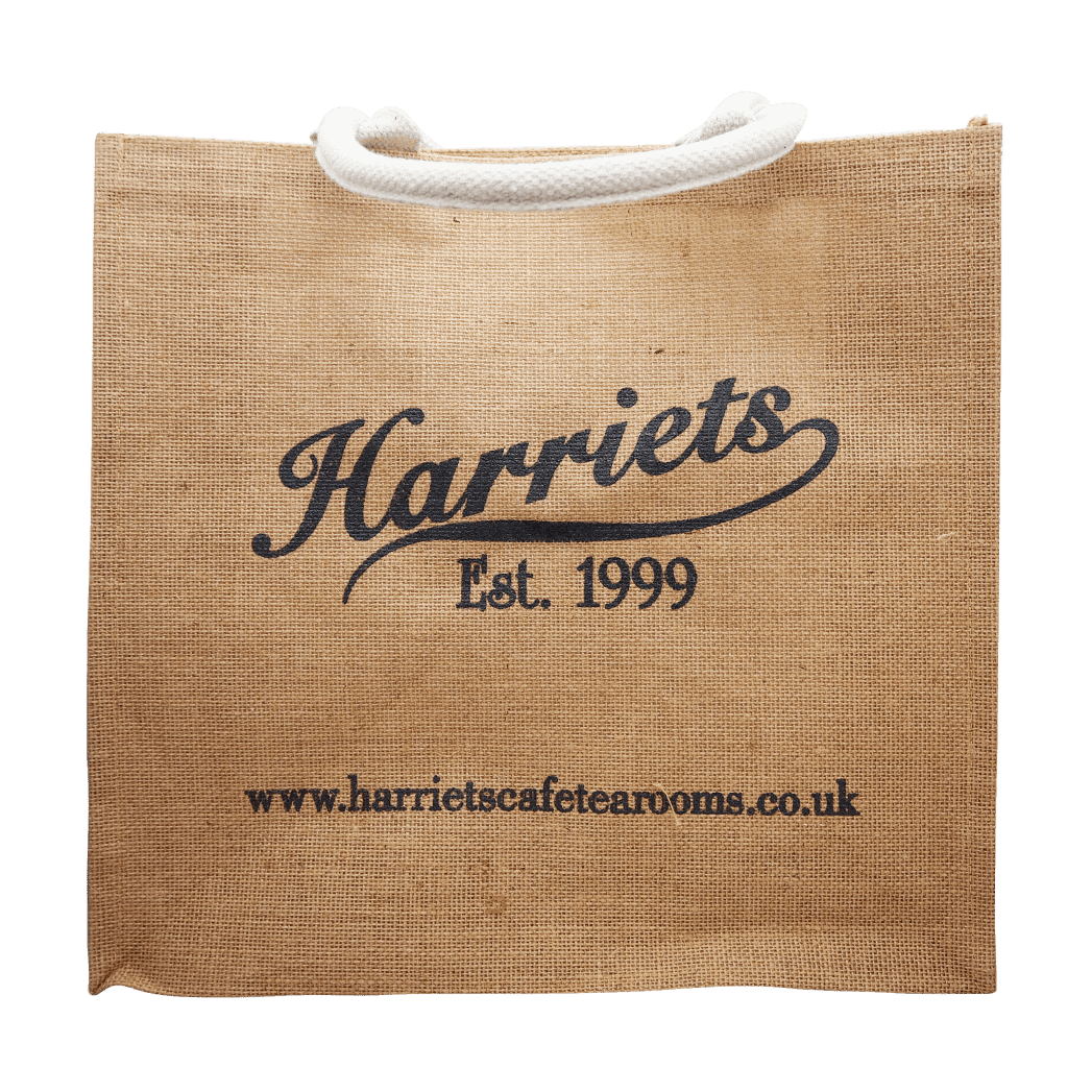 Harriets Hessian Bag