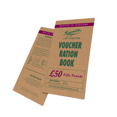 £50 Harriets Tearoom Gift Voucher