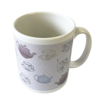 "Harriets ""teapot and tea cup"" Mug"