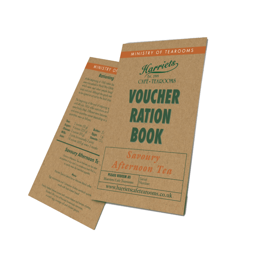 Savoury Afternoon Tea Voucher