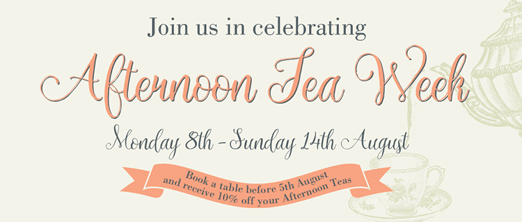 Join us in celebrating Afternoon Tea Week