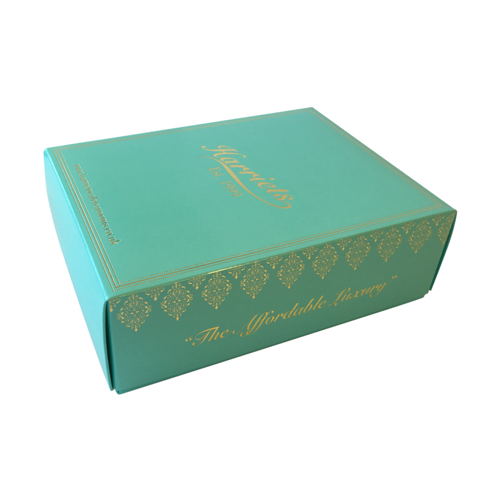 Blue box design