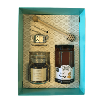 Green tea and honey hamper