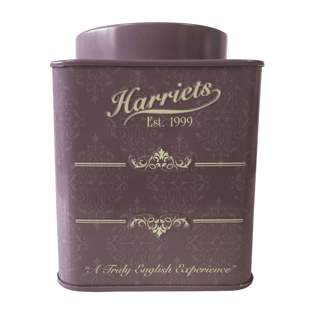 Harriets Signature Purple Tea Caddy