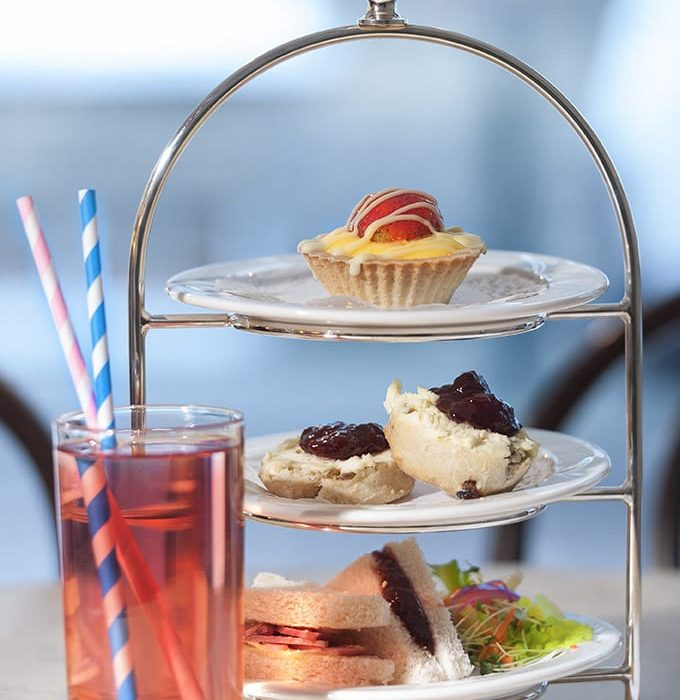 Enjoy a free children's afternoon tea this August