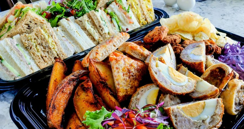 Office buffets: Impress clients at your next business meeting
