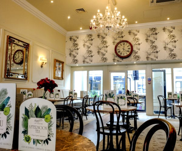Harriets Cafe Tearoom in Bury St Edmunds