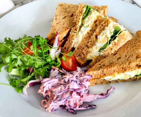 Sandwiches at Harriets Cafe Tearooms
