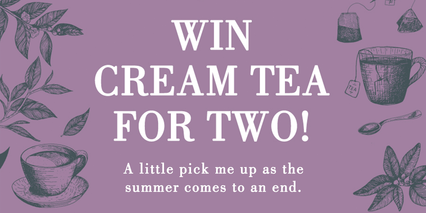 Win Cream tea for two