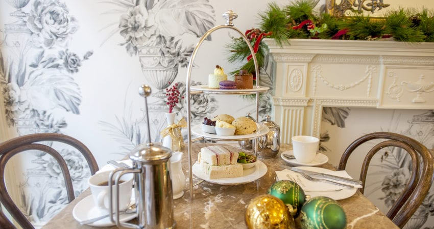 Christmas parties in our tearooms in East Anglia