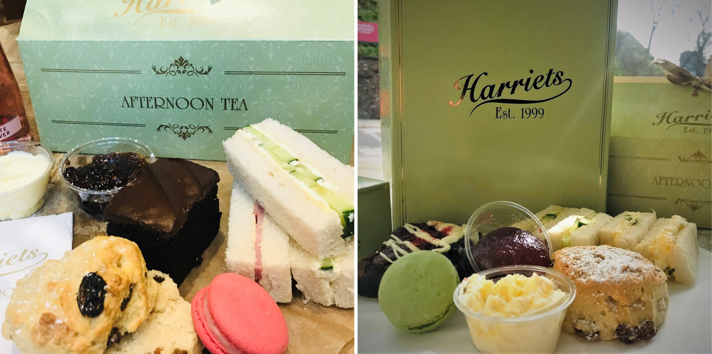 Harriets Afternoon Tea Delivery Boxes